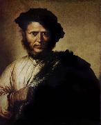 Salvator Rosa Portrait of a man oil painting reproduction