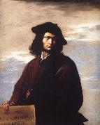 Salvator Rosa Self portrait oil painting reproduction