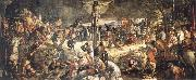 TINTORETTO, Jacopo Crucifixion oil painting reproduction