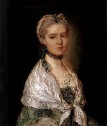 Thomas Gainsborough Portrait of a Young Woman oil painting reproduction