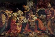 Tintoretto The Birth of St John the Baptist china oil painting artist