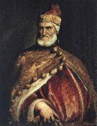 Titian Portrait of Doge Andrea Gritti oil painting reproduction