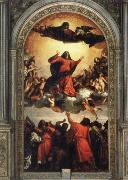 Titian Assumption of the Virgin oil painting reproduction