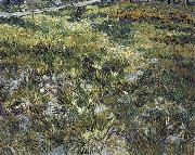 Vincent Van Gogh Long Grass with Butterflies oil painting reproduction