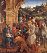 Vincenzo Foppa The Adoration of the Kings oil