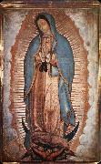 unknow artist Our Senora of Guadalupe painting
