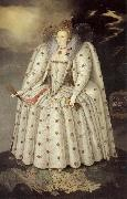 unknow artist The Ditchley Portrait of Queen Elizabeth china oil painting artist