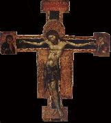 unknow artist Cross with the Crucifixion oil painting reproduction