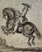 Abraham Jansz Van Diepenbeeck William duke of Newcastle, to horse oil painting reproduction