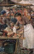 Camile Pissarro the butcher woman china oil painting artist