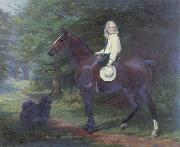 Margaret Collyer Oil undated here Favourite Pets oil on canvas