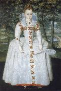 Robert Peake the Elder Elizabeth Queen of Bohemia oil