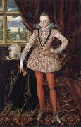 Robert Peake the Elder Henry Prince of Wales oil
