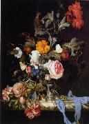 unknow artist Floral, beautiful classical still life of flowers.045 oil painting reproduction
