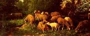 unknow artist Sheep 149 china oil painting reproduction