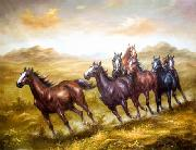 unknow artist Horses 016 painting