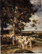 unknow artist Sheep 084 china oil painting reproduction