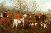 unknow artist Classical hunting fox, Equestrian and Beautiful Horses, 031. oil painting reproduction