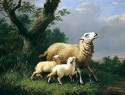 unknow artist Sheep 074 china oil painting reproduction