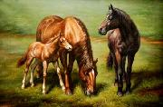 unknow artist Horses 038 painting