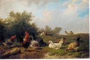 unknow artist Cocks 124 china oil painting reproduction