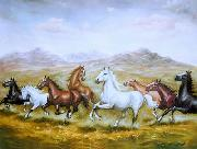 unknow artist Horses 010 painting