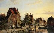 unknow artist European city landscape, street landsacpe, construction, frontstore, building and architecture. 142 oil painting reproduction