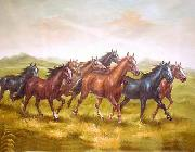 unknow artist Horses 017 painting