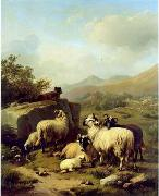 unknow artist Sheep 083 china oil painting reproduction