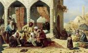 unknow artist Arab or Arabic people and life. Orientalism oil paintings 135 china oil painting reproduction