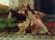 unknow artist Arab or Arabic people and life. Orientalism oil paintings 614 china oil painting reproduction