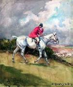 unknow artist Classical hunting fox, Equestrian and Beautiful Horses, 180. china oil painting reproduction