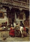 unknow artist Arab or Arabic people and life. Orientalism oil paintings 197 china oil painting reproduction
