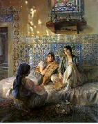 unknow artist Arab or Arabic people and life. Orientalism oil paintings  224 china oil painting reproduction