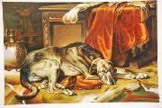 unknow artist Dog 031 china oil painting reproduction