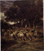 unknow artist Sheep 103 china oil painting reproduction