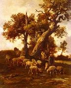 unknow artist Sheep 088 china oil painting reproduction