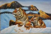 unknow artist Tigers 026 china oil painting reproduction