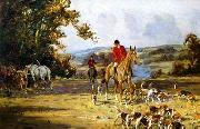 unknow artist Classical hunting fox, Equestrian and Beautiful Horses, 193. china oil painting reproduction