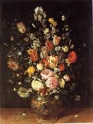 unknow artist Floral, beautiful classical still life of flowers.043 oil painting reproduction