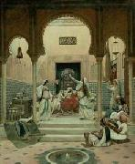unknow artist Arab or Arabic people and life. Orientalism oil paintings  326 china oil painting reproduction