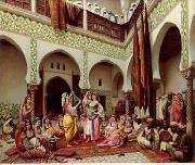 unknow artist Arab or Arabic people and life. Orientalism oil paintings 137 china oil painting reproduction