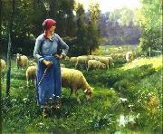 unknow artist Sheep 151 china oil painting reproduction