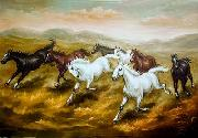 unknow artist Horses 08 painting