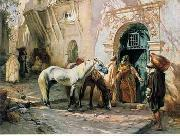 unknow artist Arab or Arabic people and life. Orientalism oil paintings 155 china oil painting reproduction