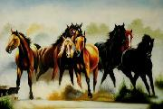 unknow artist Horses 045 painting