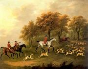 unknow artist Classical hunting fox, Equestrian and Beautiful Horses, 072. china oil painting reproduction