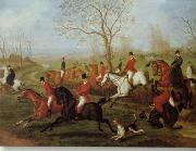 unknow artist Classical hunting fox, Equestrian and Beautiful Horses, 235. china oil painting reproduction