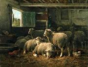 unknow artist Sheep 098 china oil painting reproduction