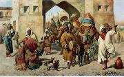 unknow artist Arab or Arabic people and life. Orientalism oil paintings 134 china oil painting reproduction